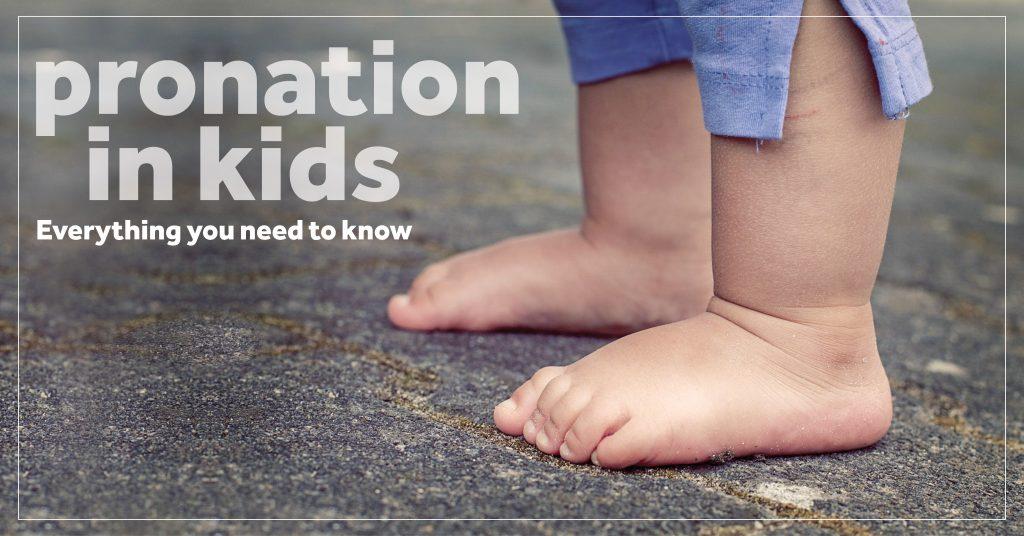 pronation in kids blog header