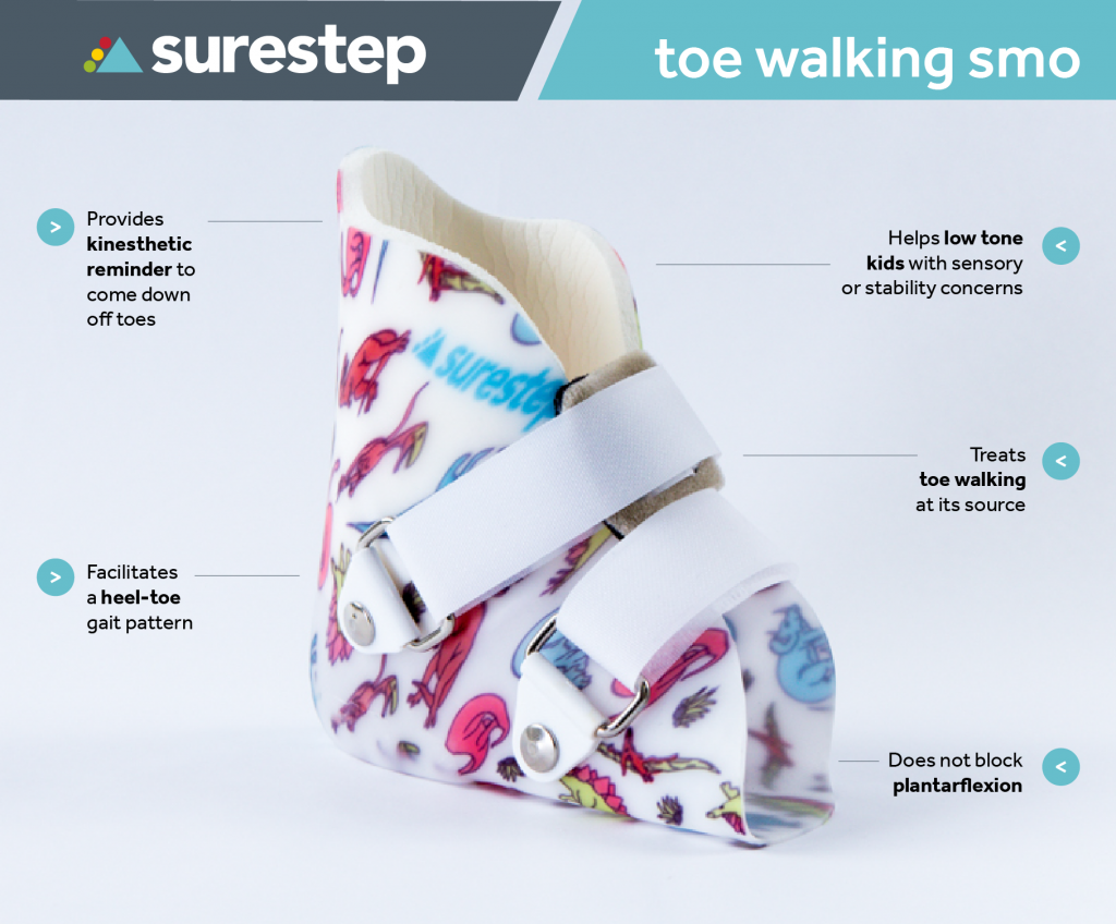 Benefits of the Surestep Toe Walking SMO