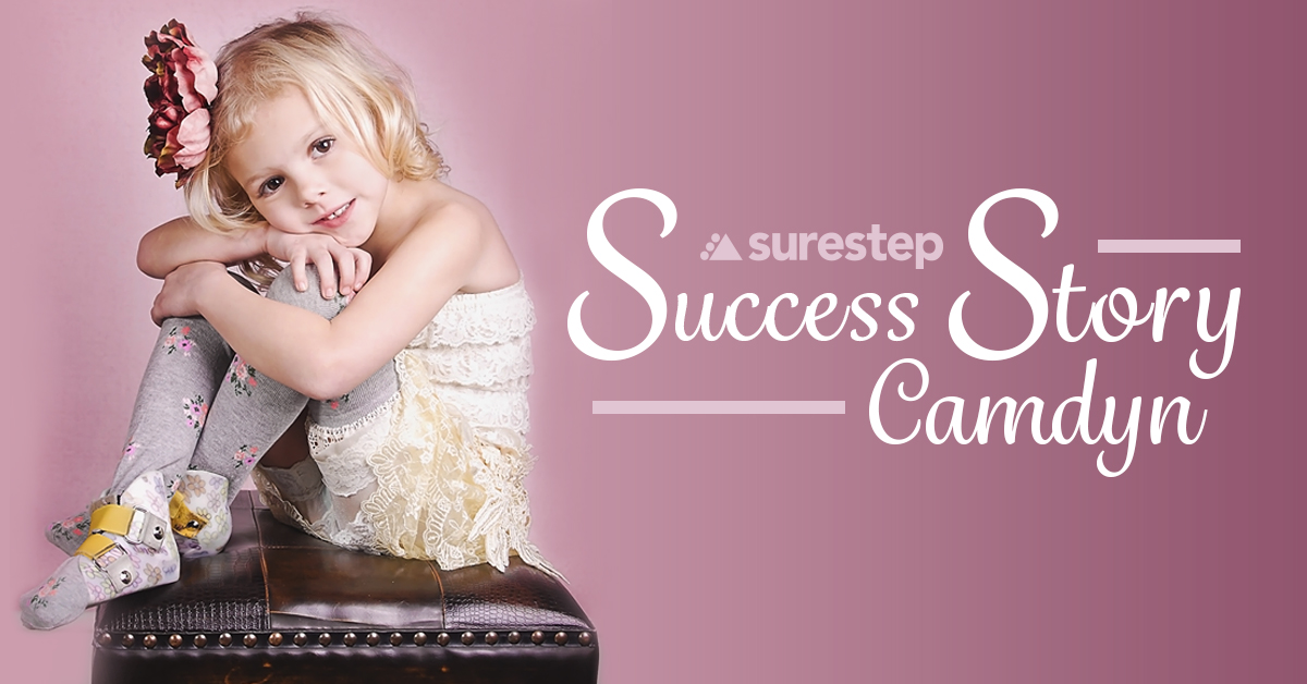 Camdyn's Surestep success story