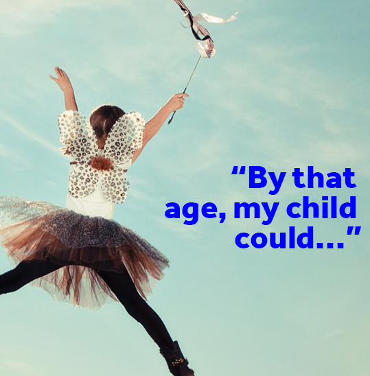 By that age, my child could...