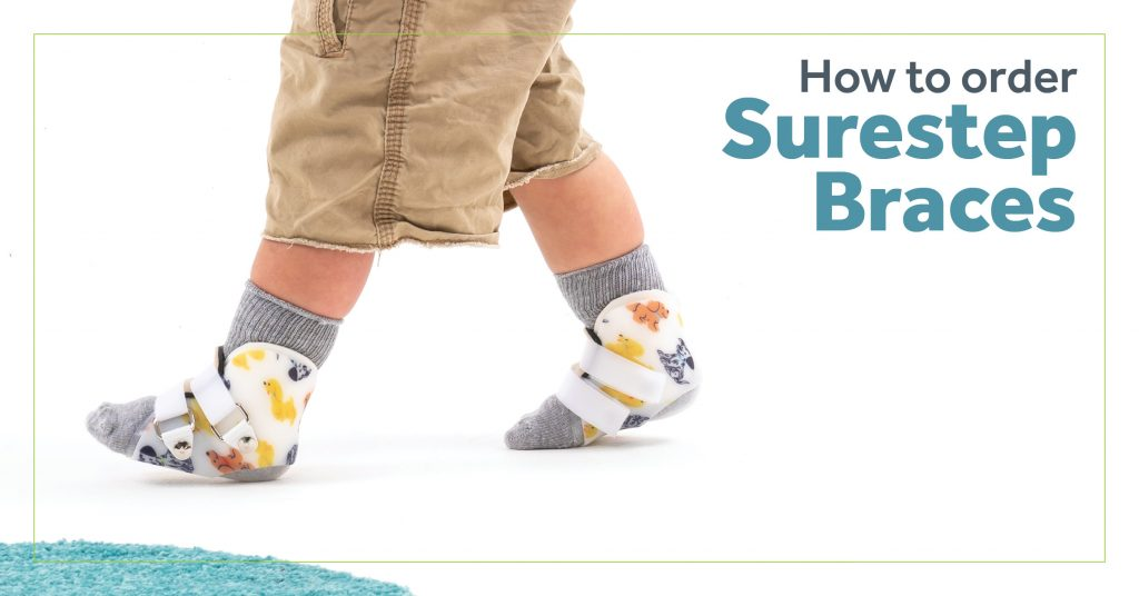 How to order Surestep braces