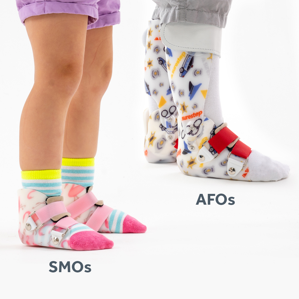 Length comparison between SMOs and AFOs